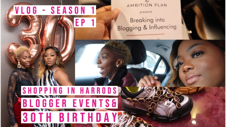 My First Vlog in 2019 – Blogger Event & 30th Birthday